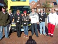 Bild 0 von Defibrillatoren von der Juist-Stiftung und dem SKJ