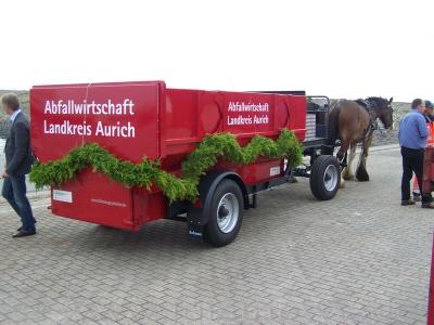 Bild 0 von Ab jetzt fährt auf Juist ein neuer Müllwagen
