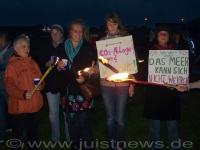 Bild 0 von Rund 150 Personen demonstrierten gegen CO2-Verpressung