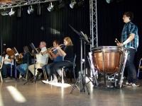 Bild 0 von Juister Gästeorchester probt für großen Auftritt am Freitag