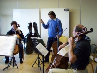 Bild 1 von Juister Gästeorchester probt für großen Auftritt am Freitag