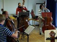Bild 2 von Juister Gästeorchester probt für großen Auftritt am Freitag