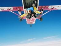 Bild 0 von Fallschirmspringer über Juist 2012