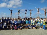Bild 0 von 110 Cheerleader verbreiten Beachparty-Gefühl auf Juist