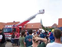 Bild 6 von Musikverein konnte beim Tag der offenen Tür der Feuerwehr nicht spielen