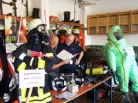 Bild 9 von Musikverein konnte beim Tag der offenen Tür der Feuerwehr nicht spielen