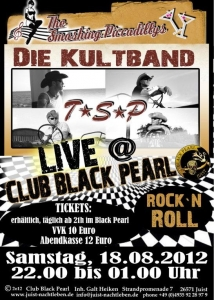 Bild 0 von The Smashing Piccadillys live im Club Black Pearl