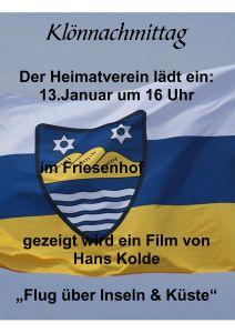 Bild 0 von Der Heimatverein lädt zu einem Klönnachmittag im Hotel Friesenhof ein