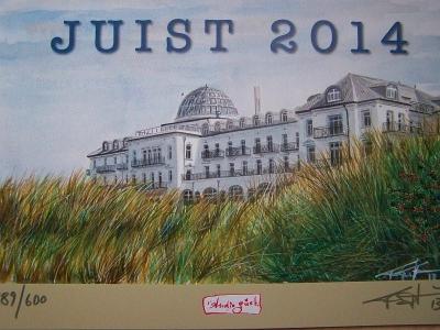 Bild 0 von Juist-Kalender erfreuen sich zum Jahreswechsel großer Beliebtheit
