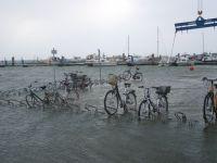 Bild 7 von Die erste Sturmflut des Winters ist auf Juist erst einmal durch