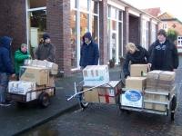 Bild 0 von Juister Schüler brachten 23 Kartons mit Sachspenden auf den Weg