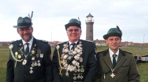 Bild 0 von Schützenverein Juist hat neue Königshäuser