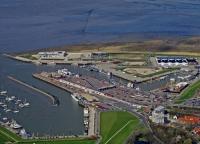 Bild 0 von Der alte Wellenbrecher in Norddeich wird abgerissen