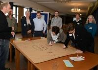 Bild 1 von Zukunftsstadt:  40 Teilnehmer entwickeln in Workshop Visionen für 2030