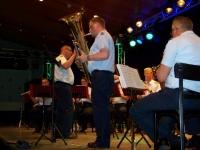 Bild 8 von Luftwaffenmusikkorps begeisterte Zuhörer mit schmissiger Blasmusik