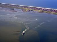 Bild 0 für Aktuelle Luftbilder vom Juister Watt und dem Hafen