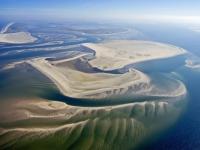 Bild 1 von Aktuelle Luftbilder vom Juister Watt und dem Hafen