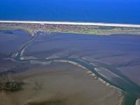 Bild 4 von Aktuelle Luftbilder vom Juister Watt und dem Hafen