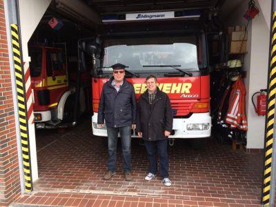 Bild 0 von CDU-Bundestagskandidat zu Besuch bei Juister Feuerwehr