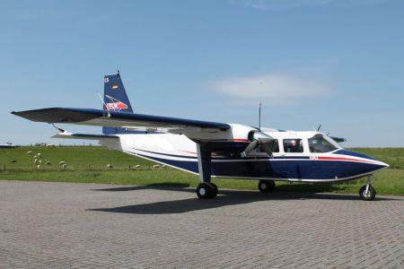 Bild 0 von FLN stellt neue Maschine vom Typ Britten-Norman in Dienst