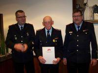 Bild 0 von Ehrungen für 160 Jahre Mitgliedschaft in der Feuerwehr