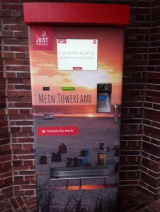 Bild 0 von Gästebeitrag kann nun auch auf Juist am Automaten bezahlt werden