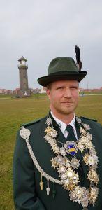 """Bild 0 von """"König Klaus III."""" regiert nun ein Jahr auf Juist"""
