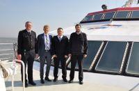 Bild 1 von Erster deutscher High-Tech-Katamaran seit dreißig Jahren auf See