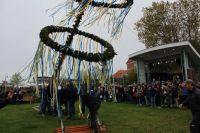 Bild 4 von Der Maibaum auf dem Kurplatz steht