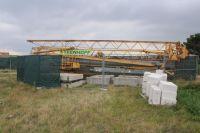 Bild 3 von Bauschild kündigt den Bau der Rettungswache an