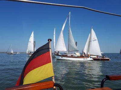 Bild 0 von Mehr Boote als in den Vorjahren bei Juister Regatta