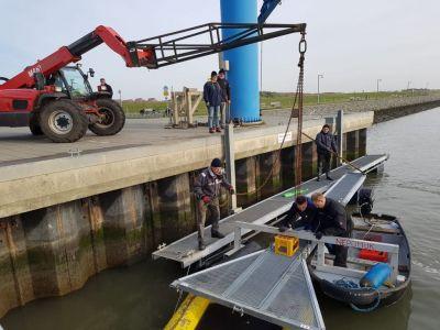 Bild 0 von Der Bootshafen vom SKJ ist bereit für die Baggerarbeiten