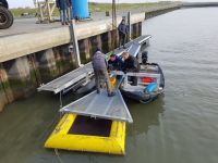 Bild 1 von Der Bootshafen vom SKJ ist bereit für die Baggerarbeiten