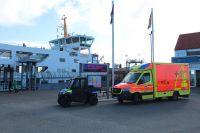 Bild 0 von Gleich drei Schiffe für Gästeabreise im Einsatz