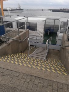 Bild 0 von Standort des Schwimmstegs für Frisia-Wassertaxi wurde endlich gefunden