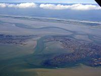 Bild 1 von Aktuelle Luftbilder vom Juister Hafen und dem Watt