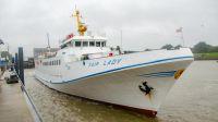 Bild 0 von  AG Ems setzt Helgolandschiff zur Verstärkung nach Borkum ein
