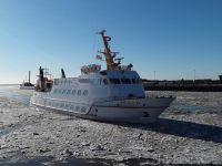 Bild 3 von Noch läuft der Schiffsverkehr nach Juist
