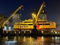 """Bild 0 von """"Nordlicht II"""" der Emder Reederei AG """"EMS"""" erfolgreich verladen"""