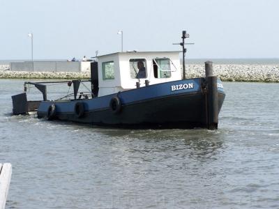 """Bild 0 von Die """"Bizon"""" soll Schlickproblem im Bootshafen entschärfen"""