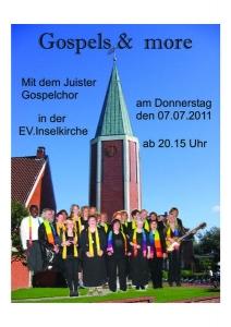 """Bild 0 von Konzert in der ev. Inselkirche """"Gospels & more"""""""