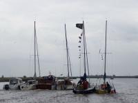 Bild 0 von Fünfzehn Boote und ein Wohnmobil gingen zum Absegeln nach Greetsiel