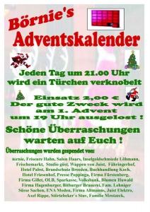 Bild 0 von Gewinnerübersicht Börnie's Adventskalender - Tag 9-16