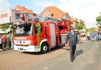 Bild 8 von Feuerwehr hat ihre neue Drehleiter eingeweiht