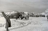 Bild 2 von Im Eiswinter vor 50 Jahren sicherten Hubschrauber die Inselversorgung