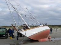 Bild 2 von Toter am Kalfamer war Eigner der gestrandeten Yacht