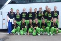 Bild 1 von Juister Tänzerinnen sehr erfolgreich bei der Deutschen Meisterschaft in Riesa