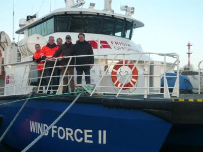 Bild 0 von Frisia-Offshore sichert langfristigen Versorgungsauftrag ab Borkum