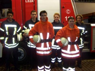 Bild 0 von Neue Atemschutzgeräteträger und Truppmänner bei der Feuerwehr Juist