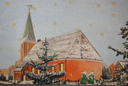 Bild 0 von Glücksnummern für Adventskalender der Ev. Kirchengemeinde